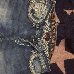 Rock revival jeans.